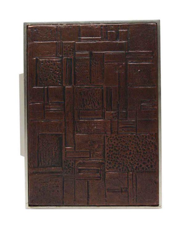 Door Pulls - 1960s European Brass & Plastic Door Pull
