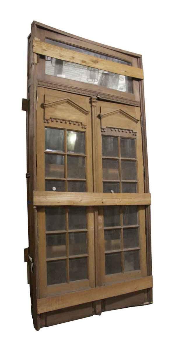 Entry Doors - Spanish Cedar Double Doors in Frame