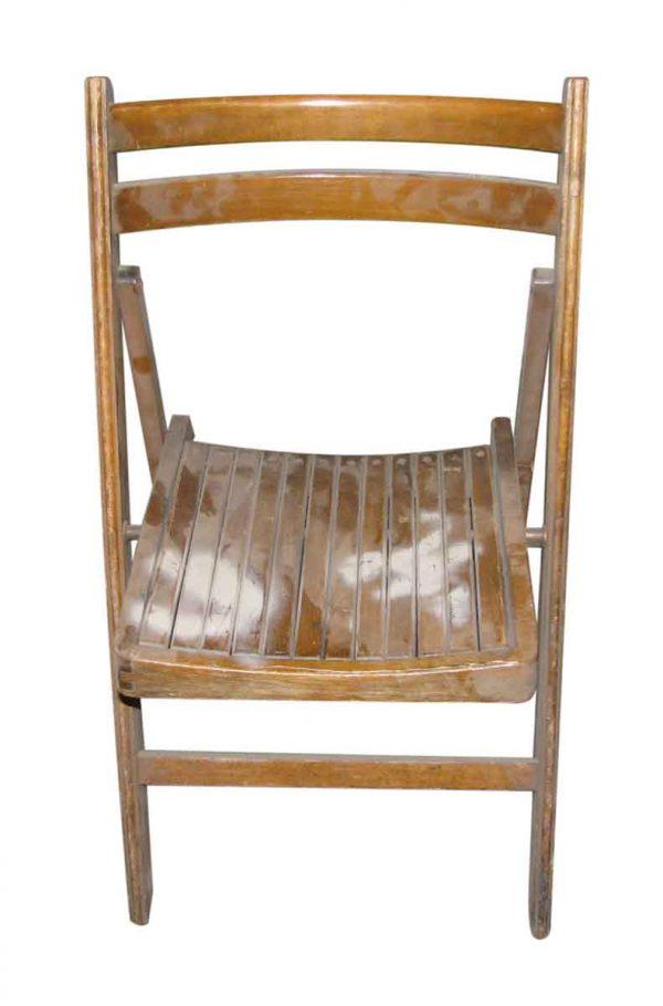 Flea Market - Wooden Stadium Folding Chair