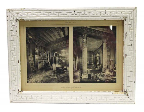 Photographs - Framed Photo of the Joseph Pulitzer Residence