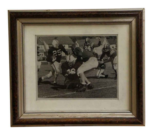 Photographs - Metal Framed College Football Photograph