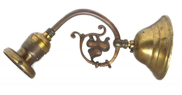 Sconces & Wall Lighting - Vintage Brass Single Arm Sconce