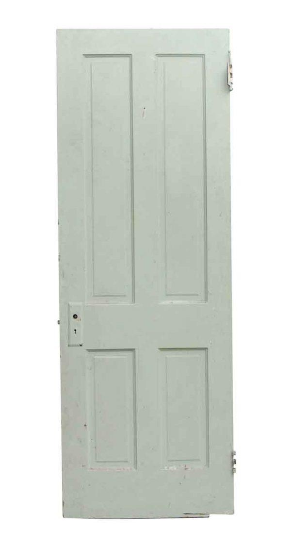 Standard Doors - Green & White Painted Wooden Farmhouse Door