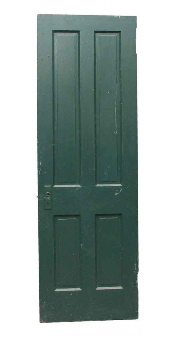 Standard Doors - Painted Green Wooden Farmhouse Door