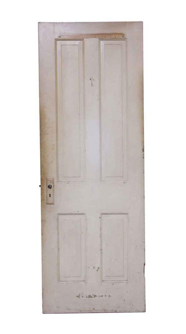Standard Doors - Painted White & Tan Farmhouse Door
