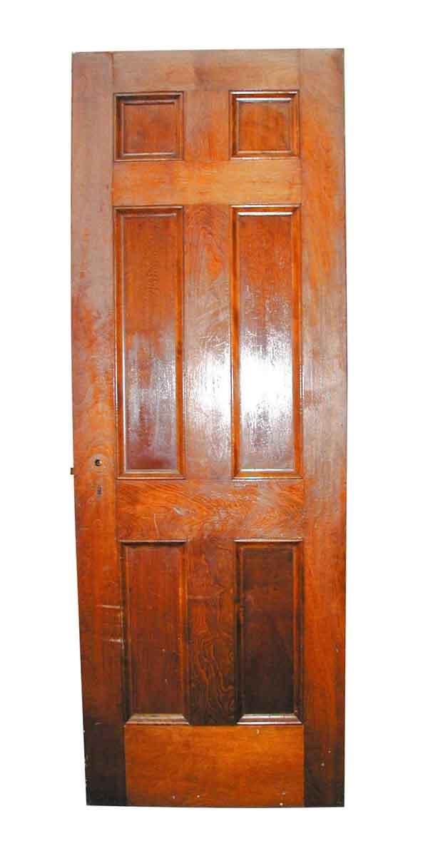 Standard Doors - Wooden Birch Six Panel Interior Door