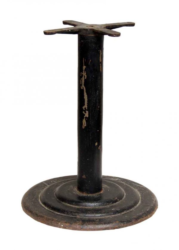 Table Bases - Vintage Black Table Base