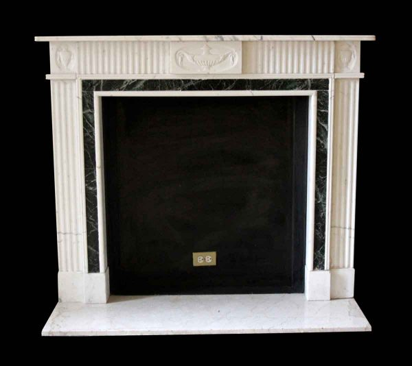 Waldorf Astoria - Waldorf Astoria English Regency Statuary White Mantel