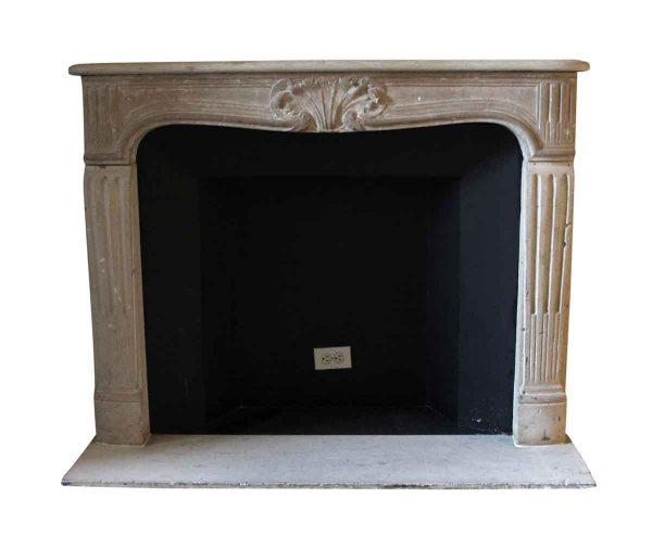 Waldorf Astoria - Waldorf Astoria Louis XV Carved Limestone Mantel