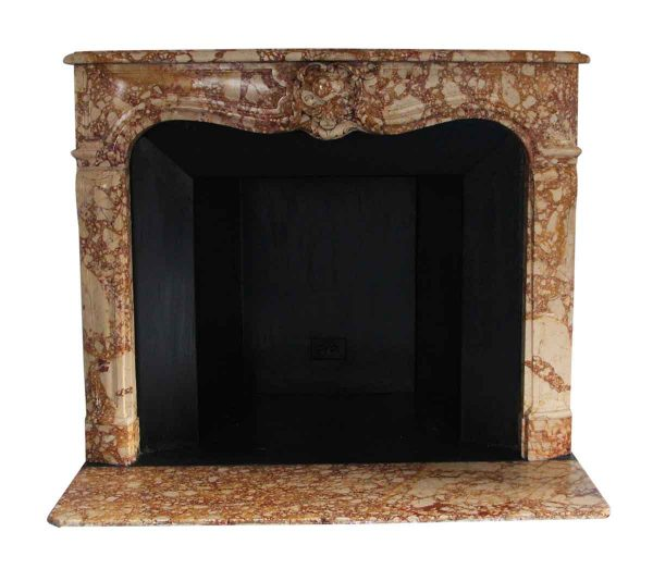 Waldorf Astoria - Waldorf Astoria Louis XV French Rococo Carved Marble Mantel