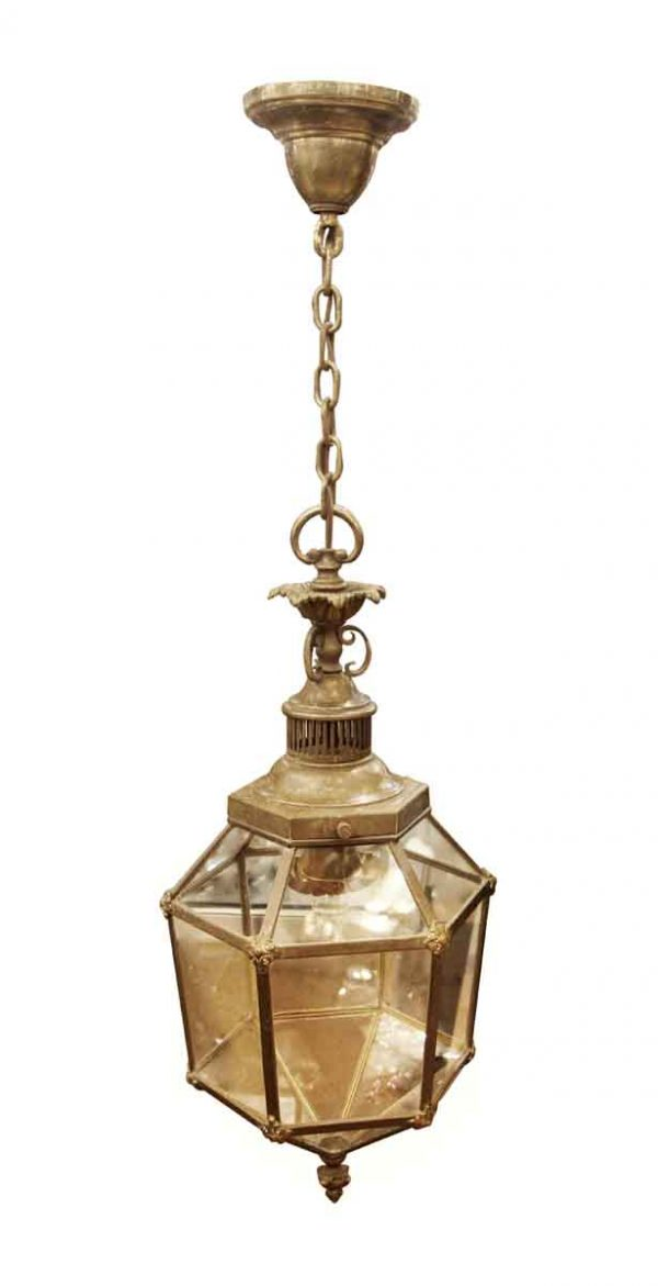 Wall & Ceiling Lanterns - Antique Bronze Pendant Lantern