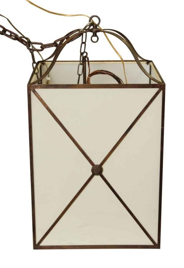 Wall & Ceiling Lanterns - Cloth & Plastic Entry Lantern