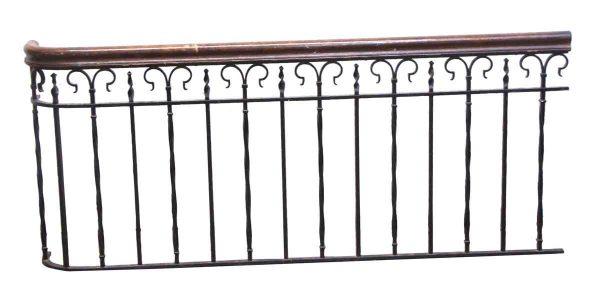 Balconies & Window Guards - Reclaimed 3 Piece Wrought Iron Balcony Set