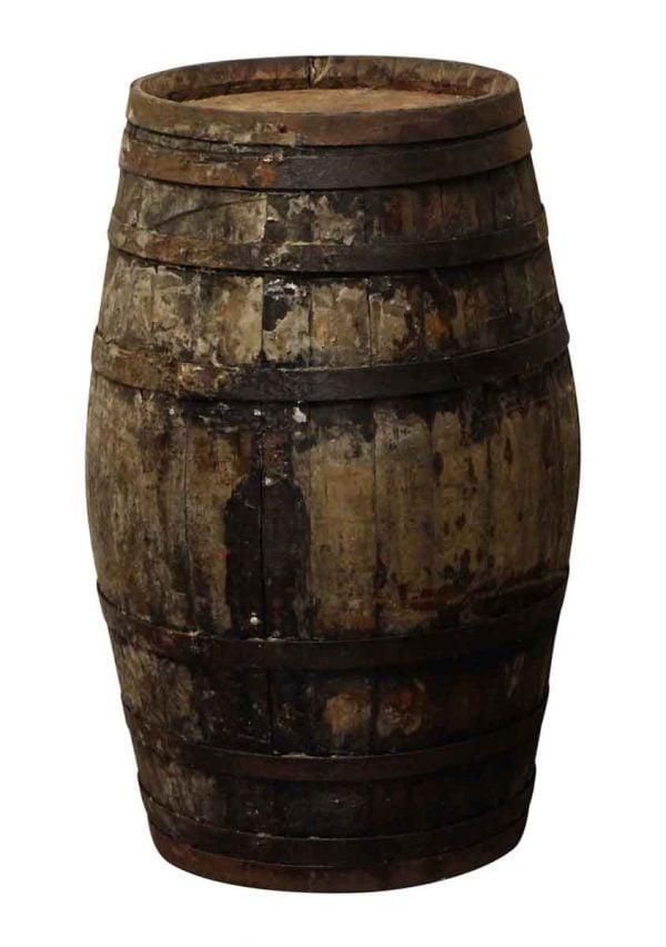 Barrels & Crates - Antique Old Distressed Barrel
