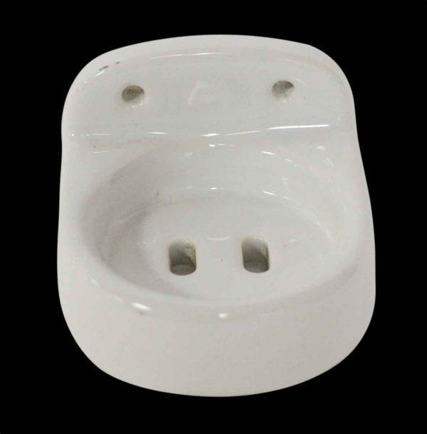 Bathroom - Porcelain White Soap Dish
