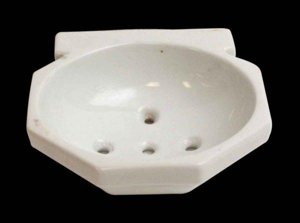 Bathroom - Wall Mount White Ceramic Sponge Dish