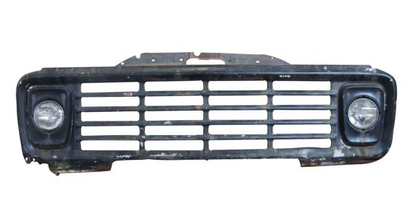 Car Fronts & Parts - Black Vintage Truck Front