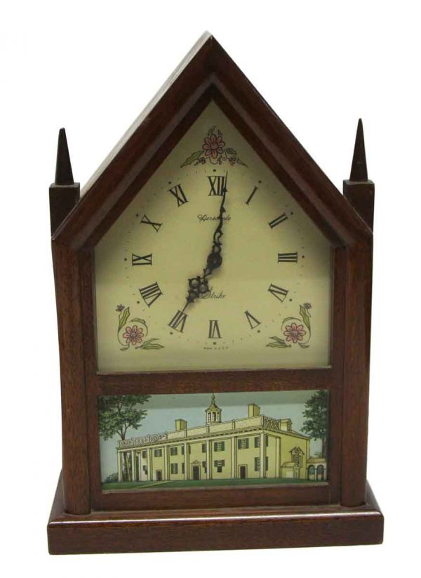 Clocks  - Small Herschede Mantel Clock