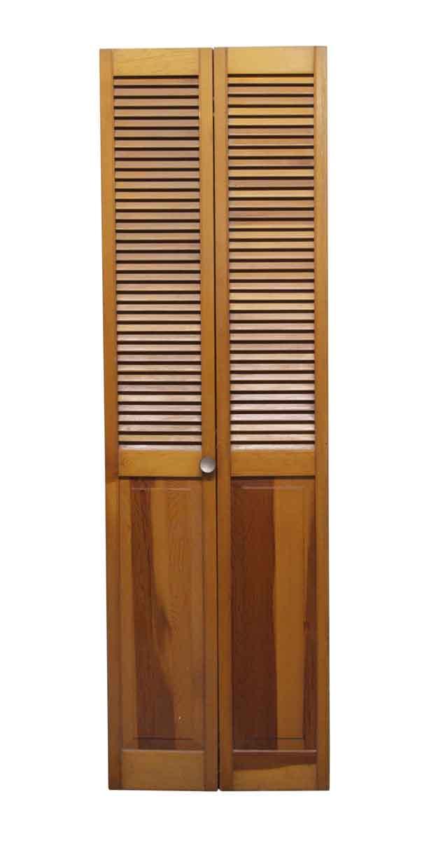 Pair Of Wooden Closet Doors Olde Good