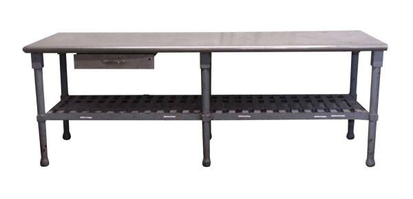 Commercial Furniture - Commercial Restaurant Steel Table with Bottom Shelf