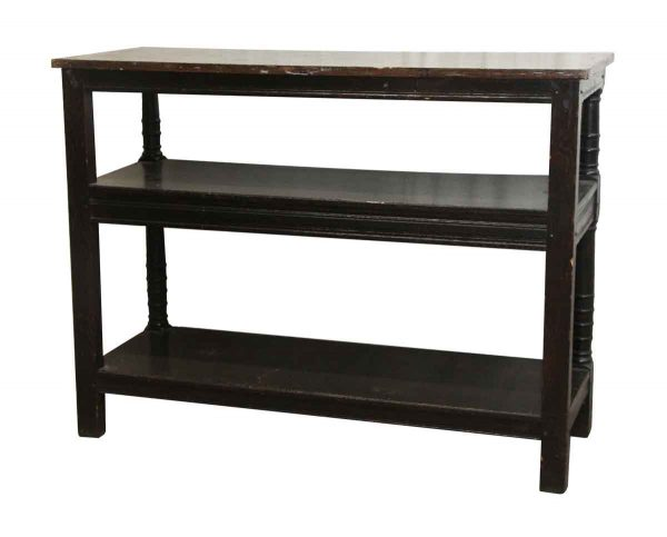 Commercial Furniture - Wooden Two Tier Table