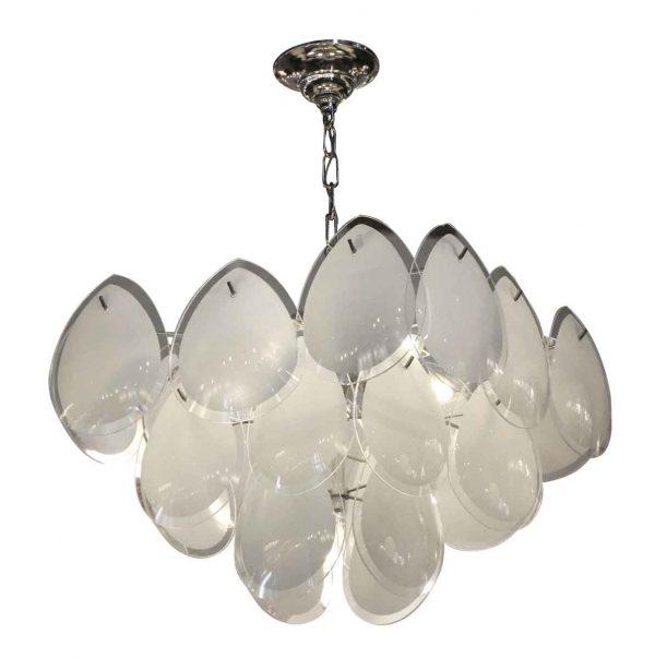 Down Lights - Modern Teardrop Glass Pendant Light