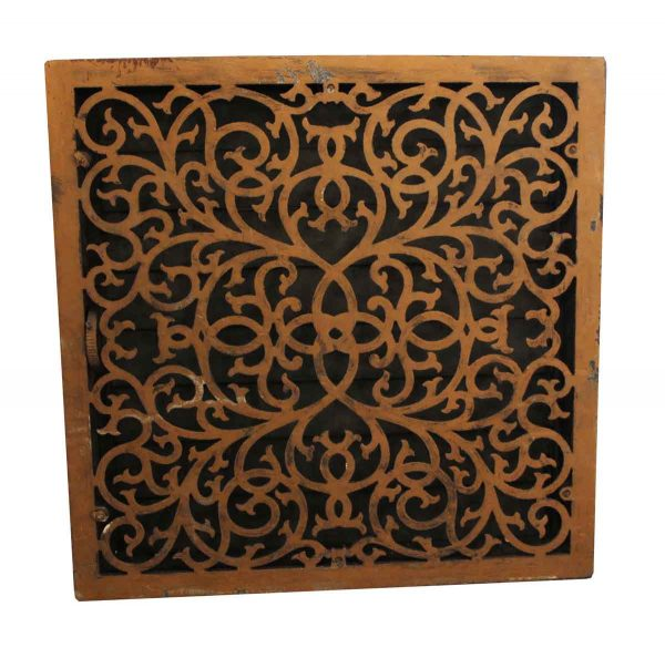 Exterior Materials - Cast Iron Grill Floor or Air Vent Cover