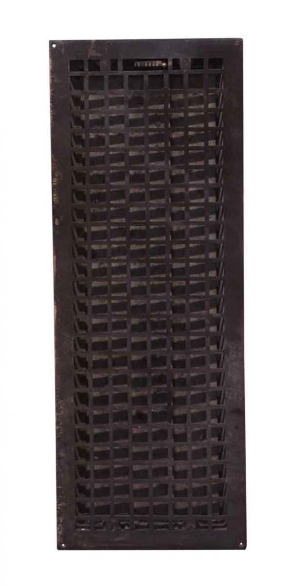 Exterior Materials - Reclaimed Black Cast Iron Grate