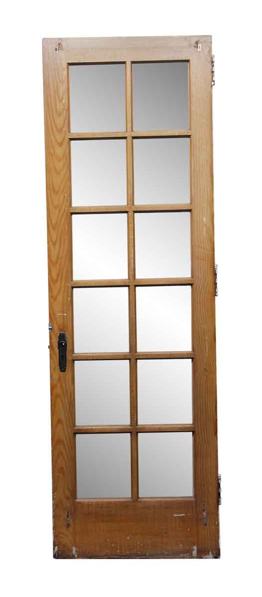 French Doors - 12 Pane Wooden French Door