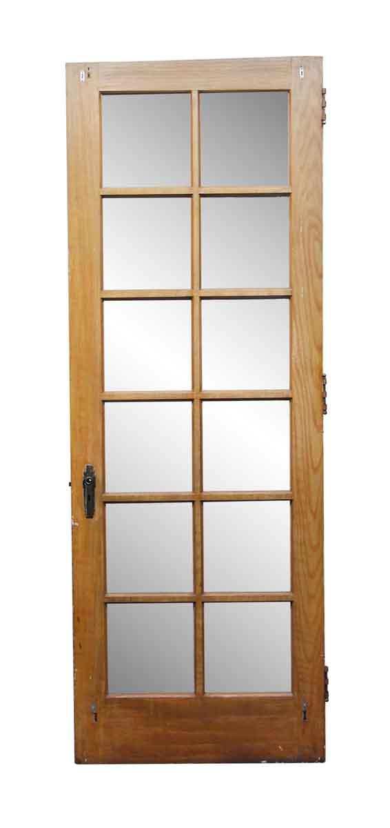 French Doors - French 12 Pane Wooden Door