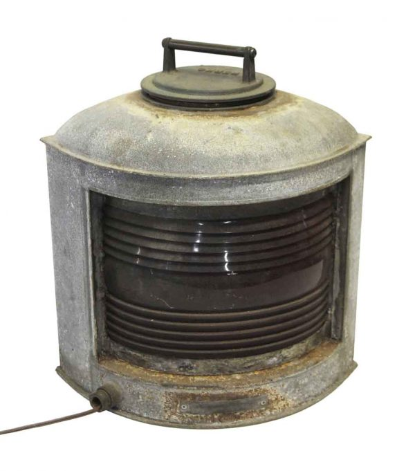 Industrial & Commercial - Perko Lantern with Red Glass