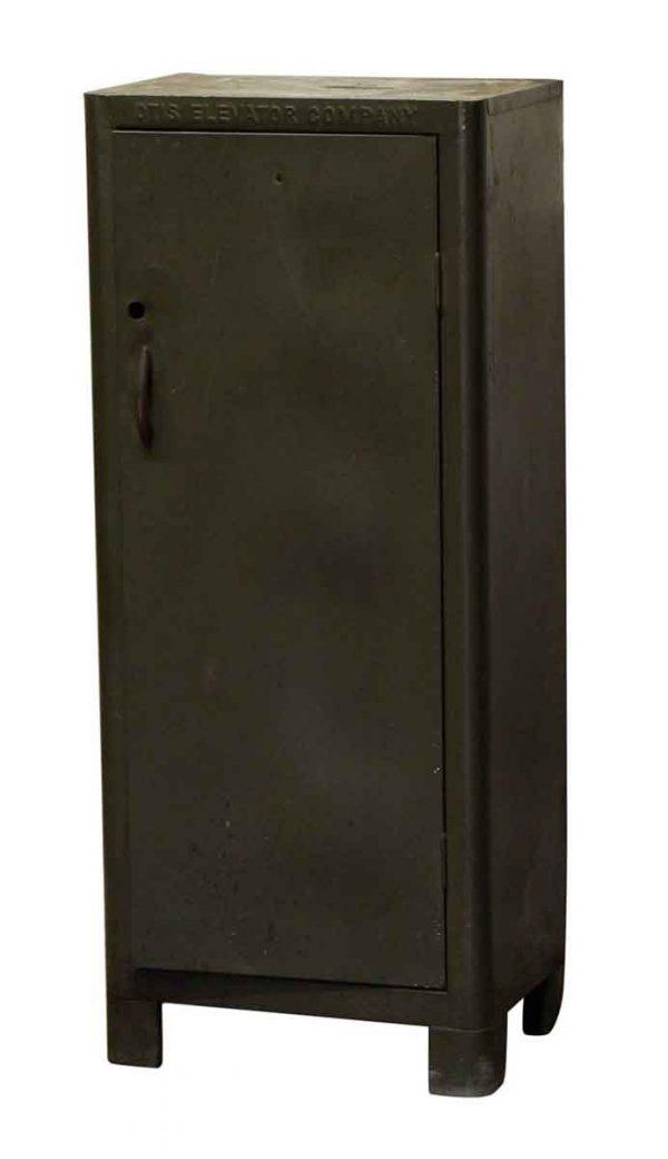 Industrial - Green Metal Otis Cabinet