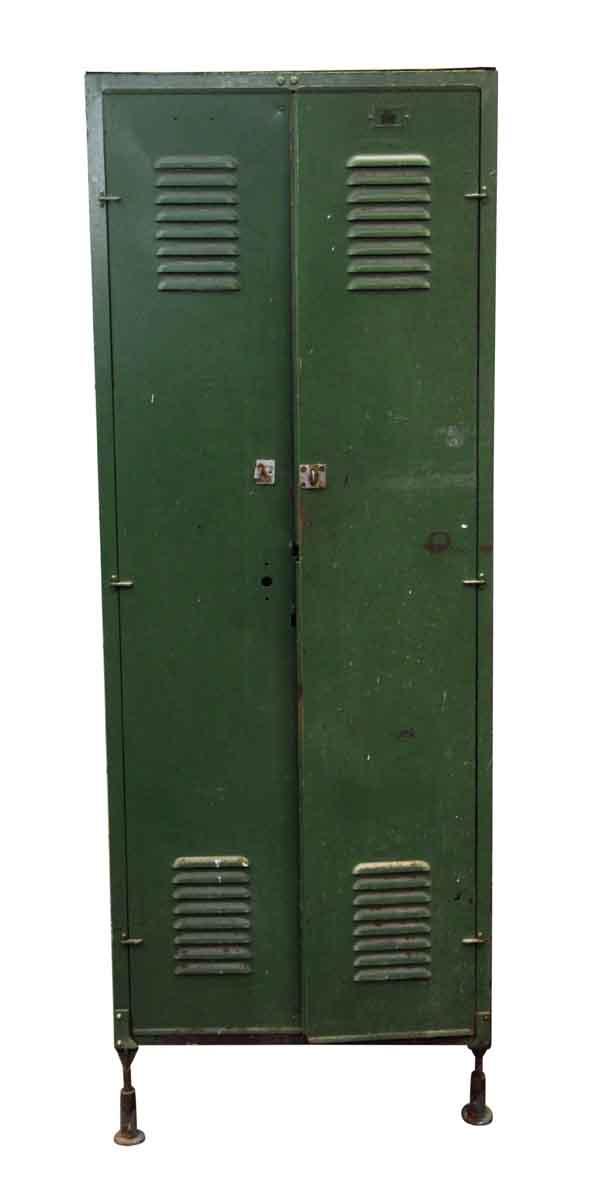 Industrial - Rusted Green Locker