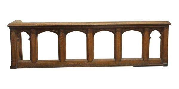 Moldings - Gothic Solid Wood Balcony