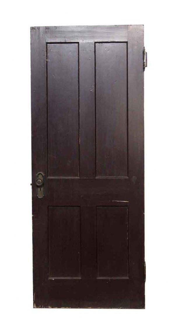 Standard Doors - 4 Panel Painted Brown Door
