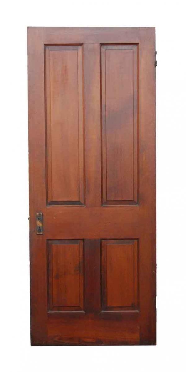 Standard Doors - 4 Panel Wooden Door