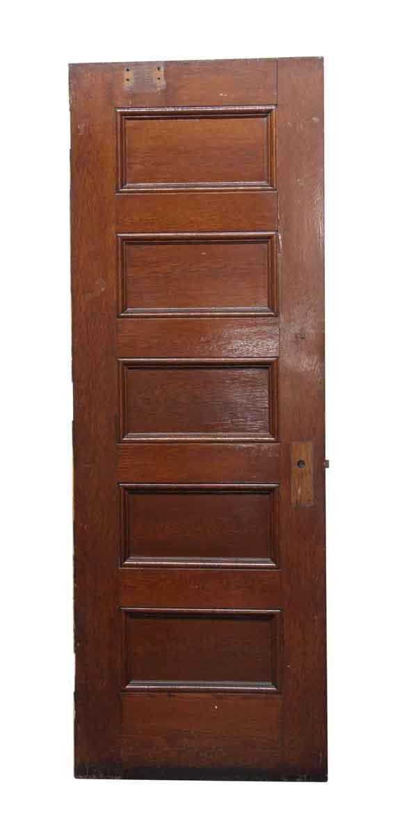 Standard Doors - Brown and Painted White Wooden Door