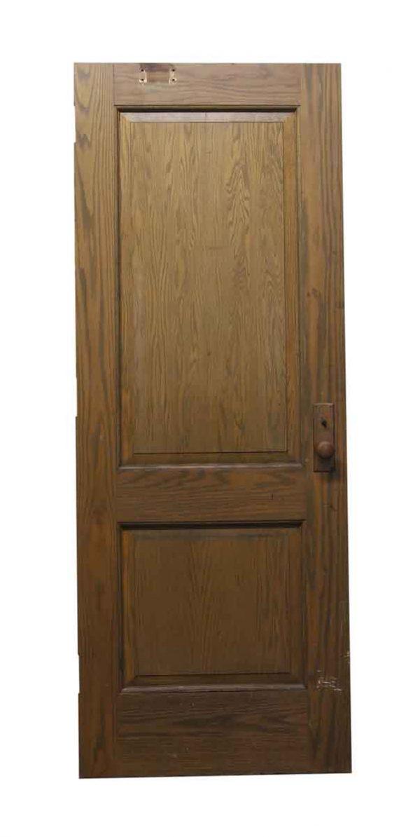 Standard Doors - Two Panel Wooden Antique Door
