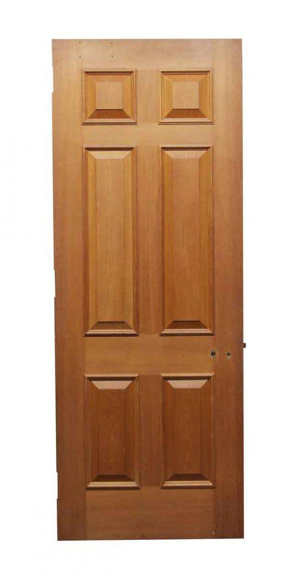 Standard Doors - Wide Wooden Door with Six Raised Panels