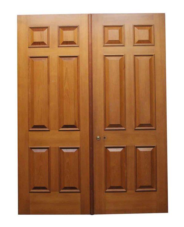 Standard Doors - Wooden Pair of Doors with 6 Raised Panels