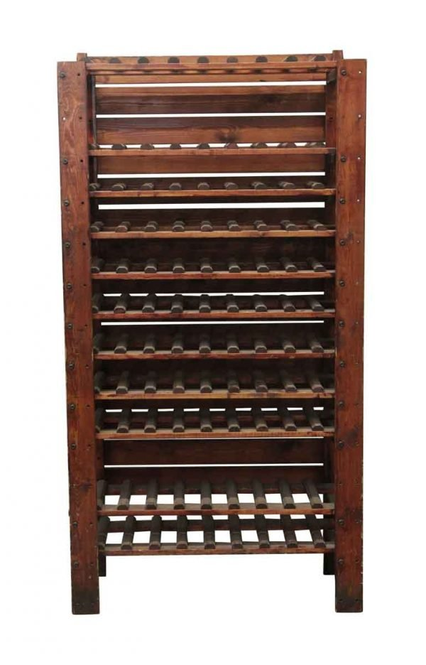 Unique Pieces - Tall Wooden Wine Rack