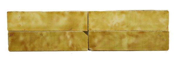 Wall Tiles - Mixed Yellow Hearth Tile Set