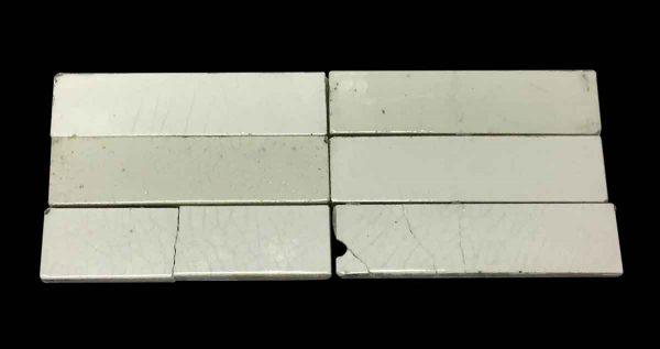 Wall Tiles - Off White Crackled 6 in. Tile Set
