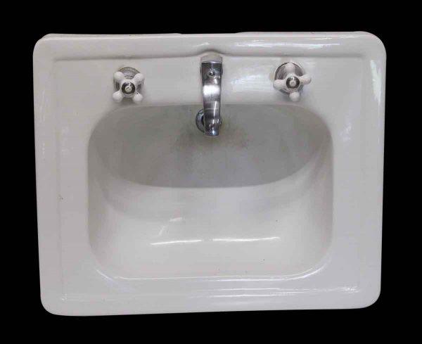 Bathroom - White Ceramic Standard Sink