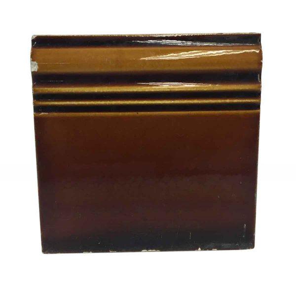 Bull Nose & Cap Tiles - Brown Baseboard Tile P261783
