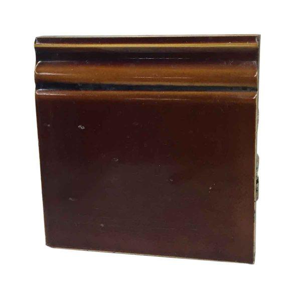 Bull Nose & Cap Tiles - Brown Baseboard Tile P261785