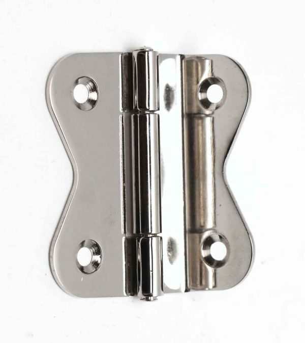 Cabinet & Furniture Hinges - Olde New Stock Chrome Plated Cabinet Hinge