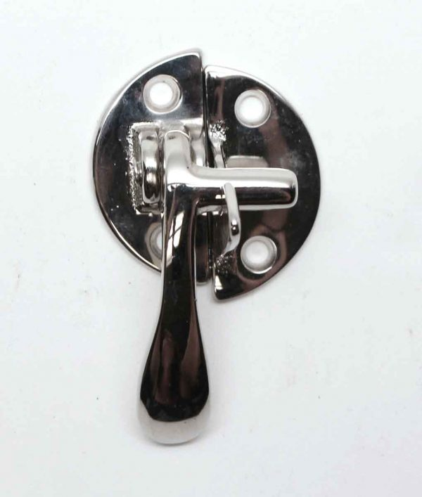 Cabinet & Furniture Latches - Ice Box Style Chrome Plated Left Hand Cabinet Latch