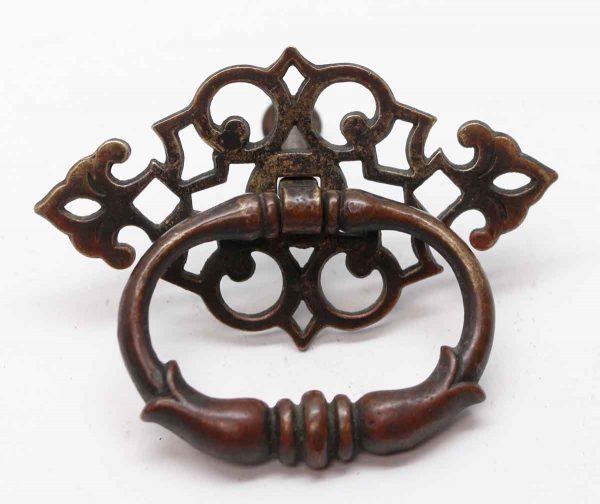 Cabinet & Furniture Pulls - Bronze Single Decorative Bail Pull