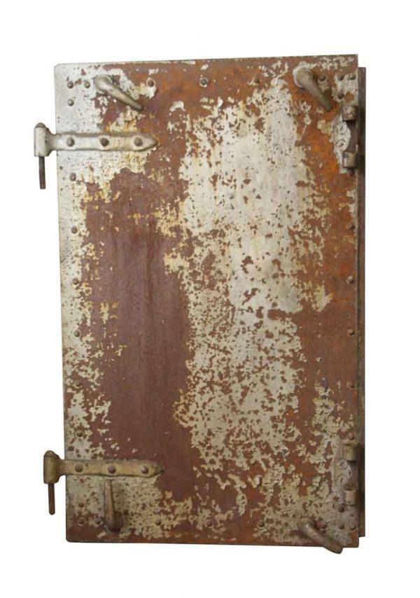 Commercial Doors - Set of 3 Cast Iron Left Handed Fire Doors